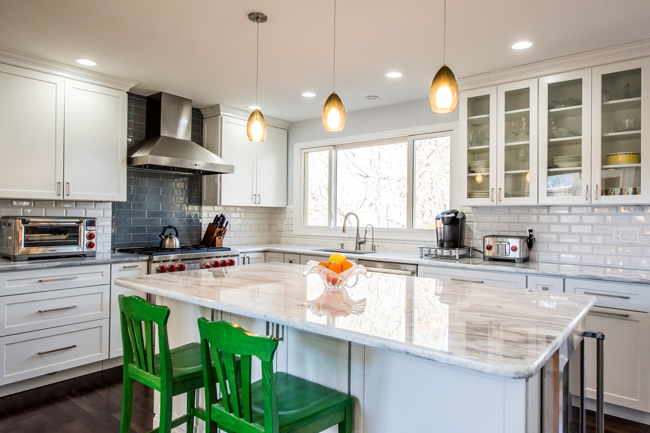 Gorgeous Kitchen Renovation In Potomac Maryland: Kitchen Remodeling Gaithersburg Md