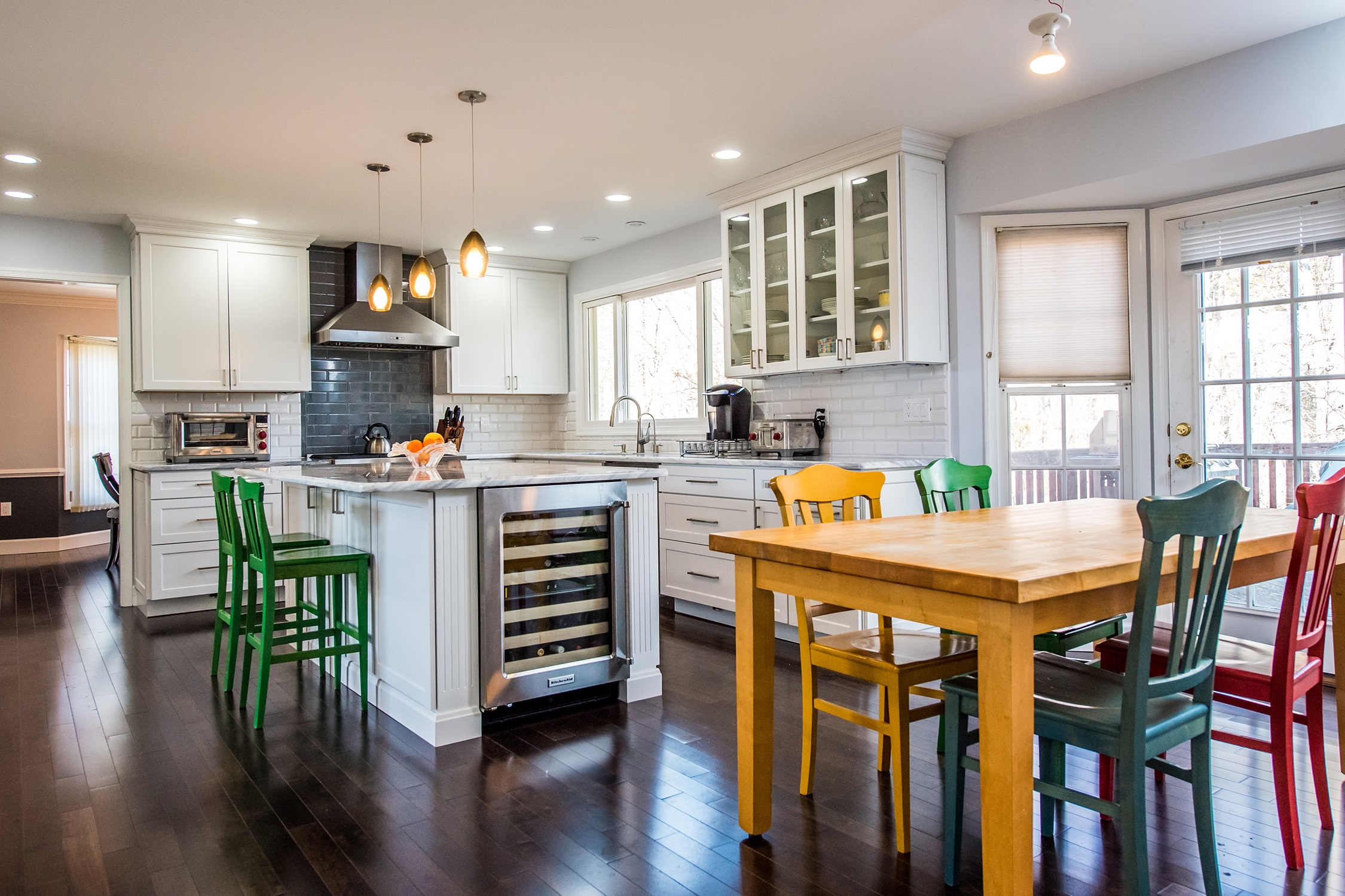 Gorgeous Kitchen Renovation In Potomac Maryland: Kitchen Remodel Gaithersburg Md