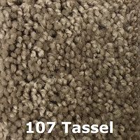 107 Tassel carpet color