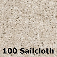 100 Sailcloth carpet color