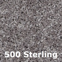 500 Sterling carpet color