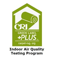 CRI green label plus logo