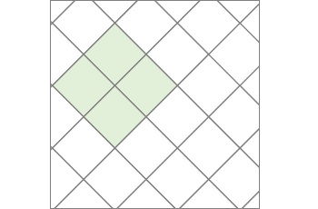 Diagonal Tile Layout
